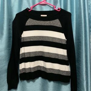 Merona striped sweater